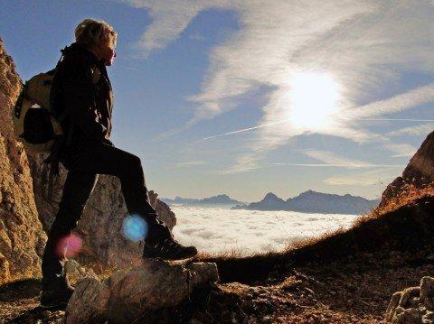 Scoprire la natura nella baita alpina Vaciara nelle Dolomiti
